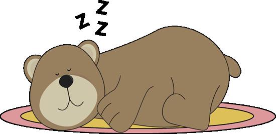 Sleeping bear.