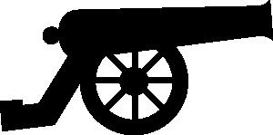 Cannon Clip Art at Clker.com.