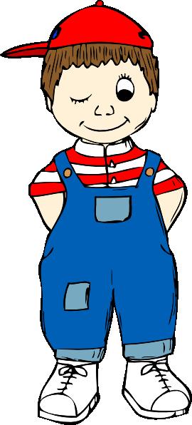 Small Boy Clipart.