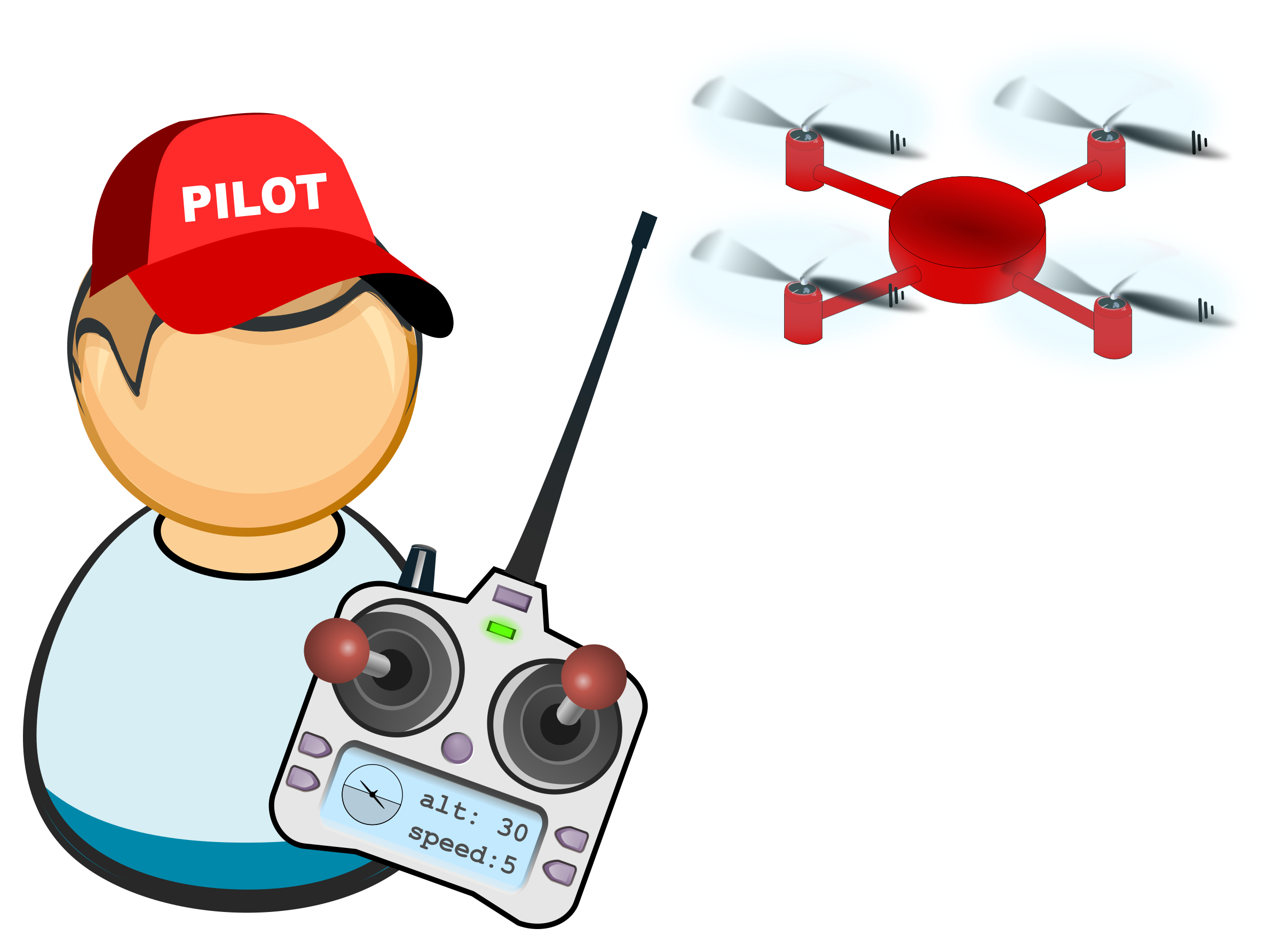 Drone clipart small, Drone small Transparent FREE for.