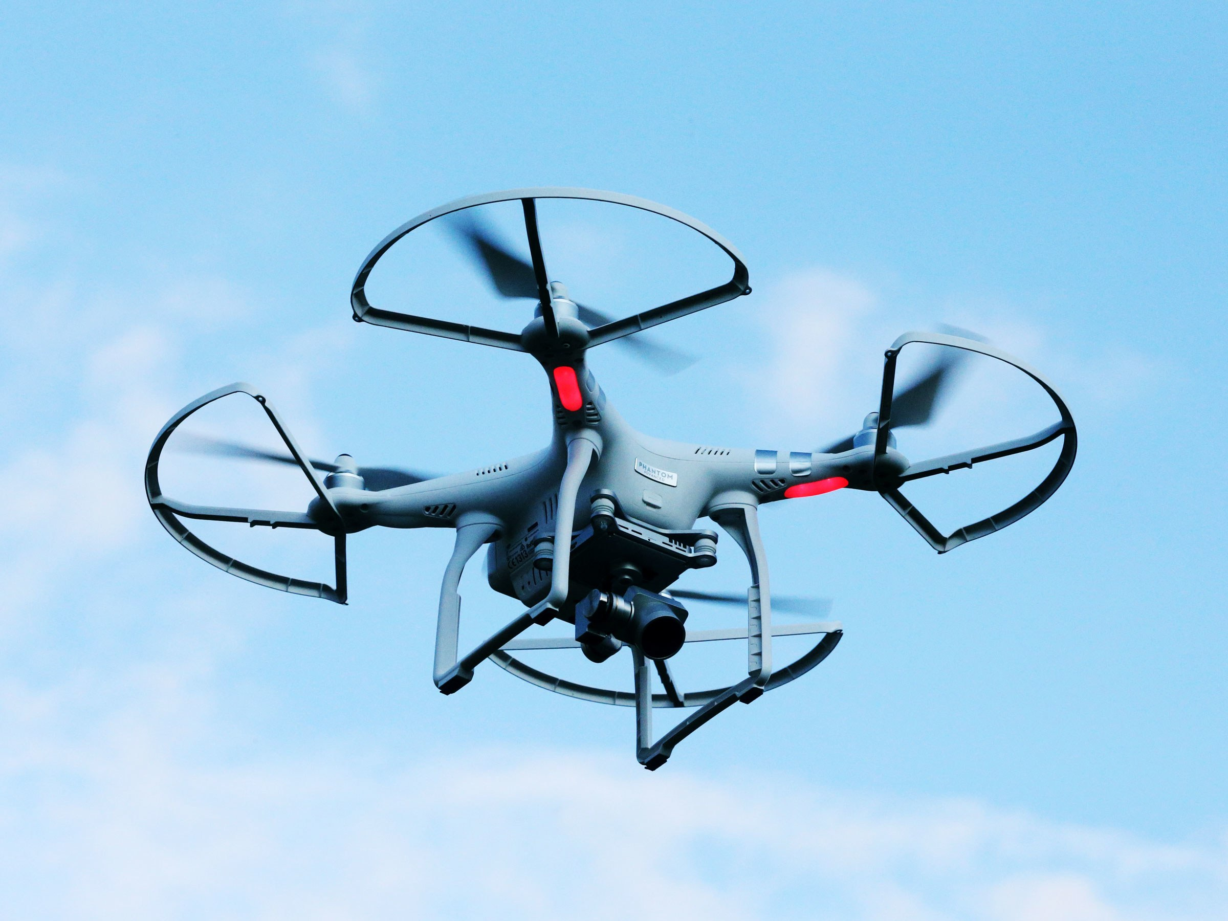 The Physics of How Drones Fly.