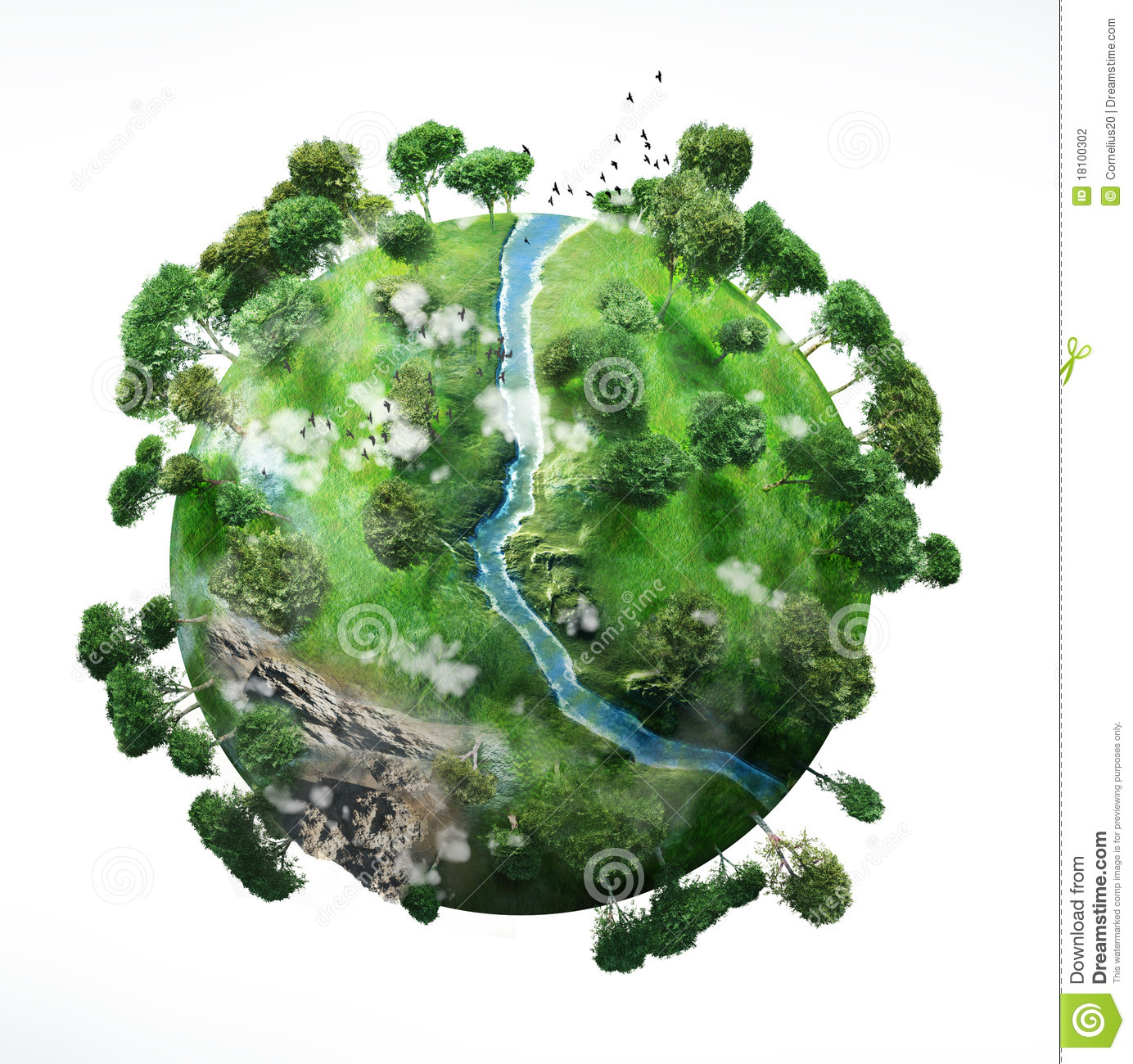 Small Planet Stock Photography.