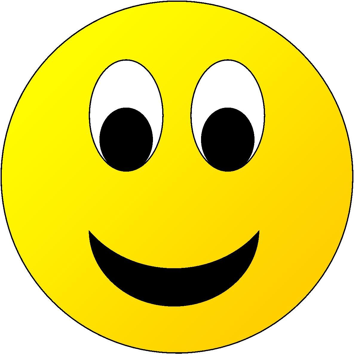Happy Face Star Clipart.