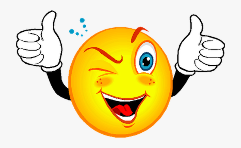 Smiley Wink Emoticon Clip Art.