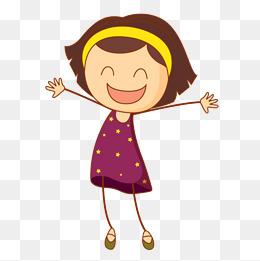 Smile Girl Clipart.