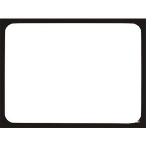 Plain color border clipart.
