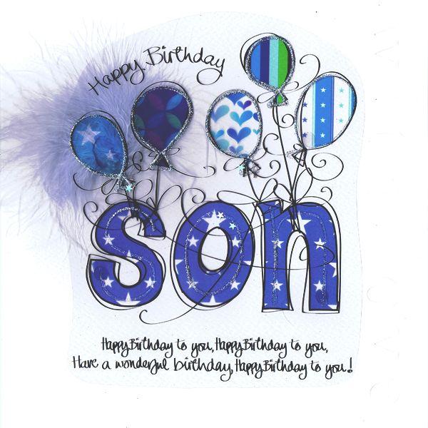 Free Clipart Happy Birthday Son.