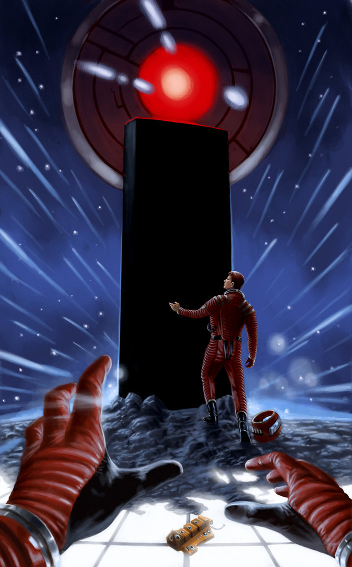 2001 a Space Odyssey Art.
