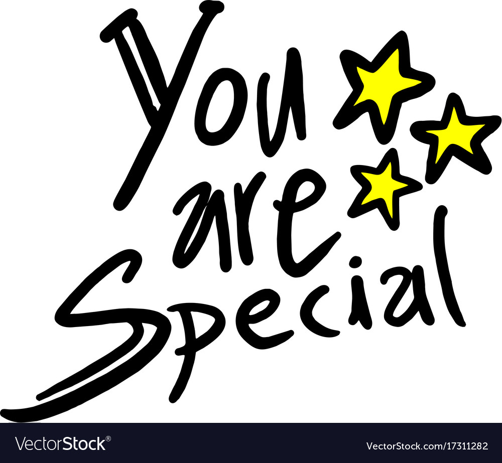 You are special message.