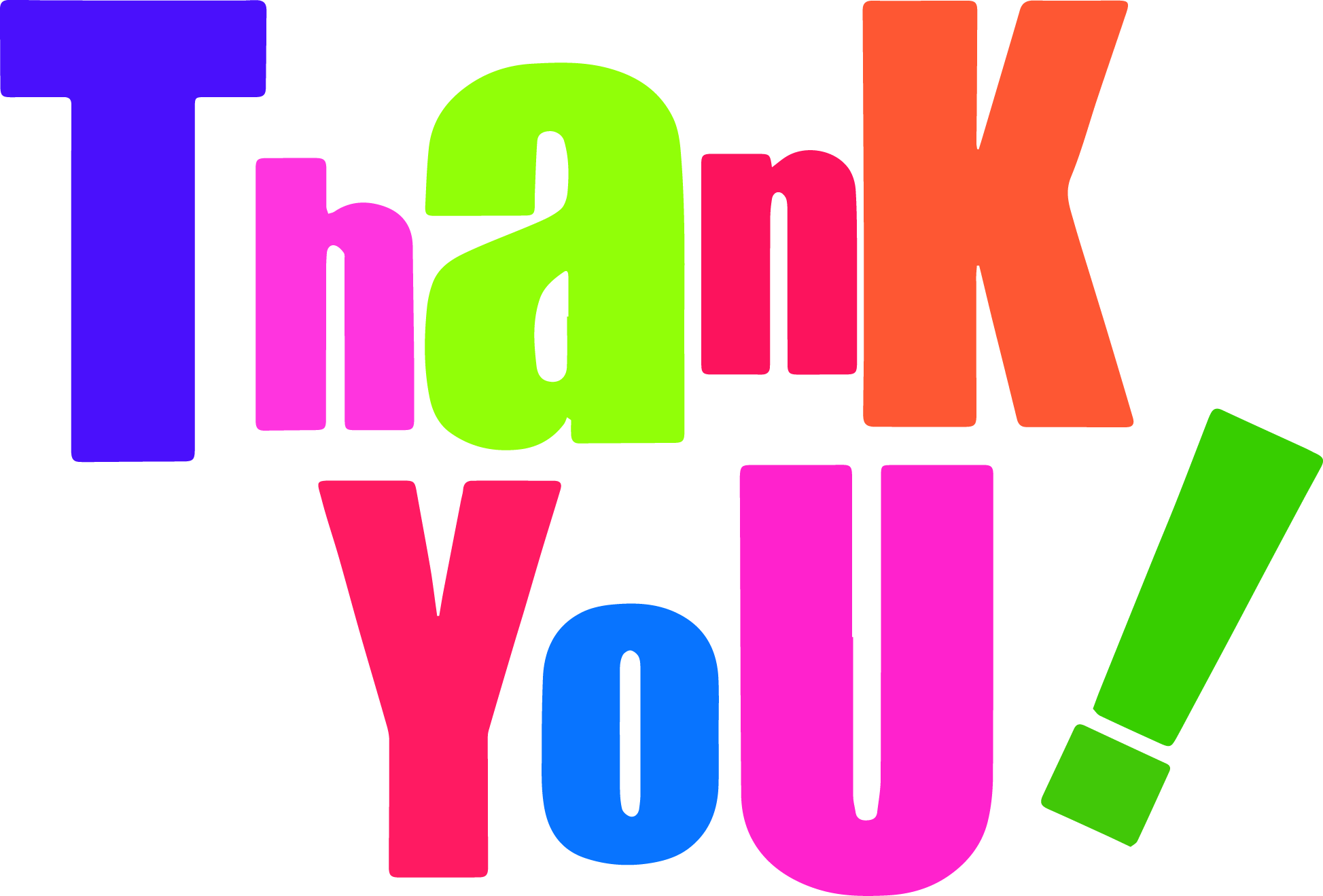 Free Thank You Clipart.