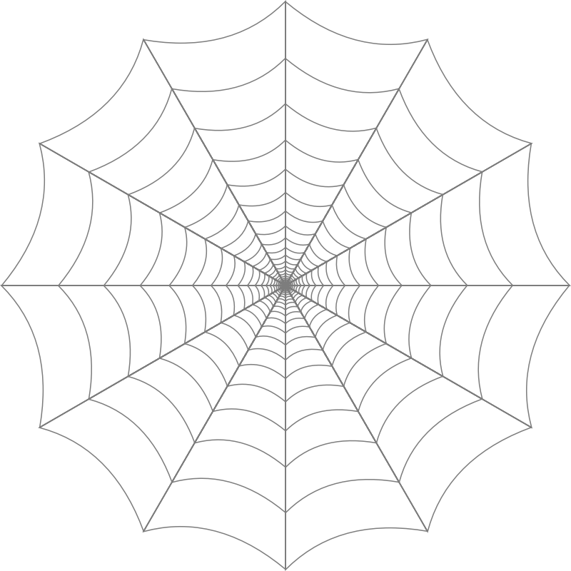 Spider web clipart free to use clip art resource 2.