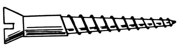 Screw Clip Art Download.