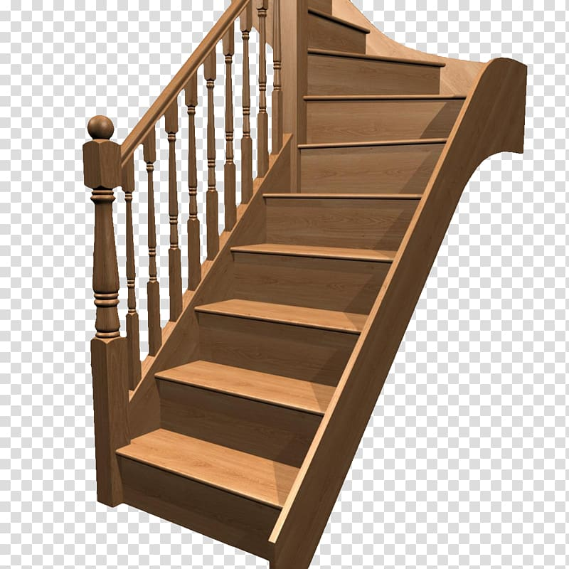 Brown wooden staircase , Stairs Hardwood Stair riser, Retro.