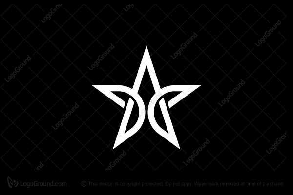 Exclusive Logo 104505, Letter A Star Logo.