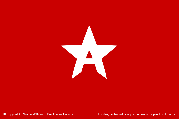 A Star Logo *For Sale*.