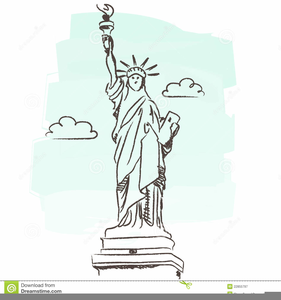Free Clipart Statue Of Liberty.