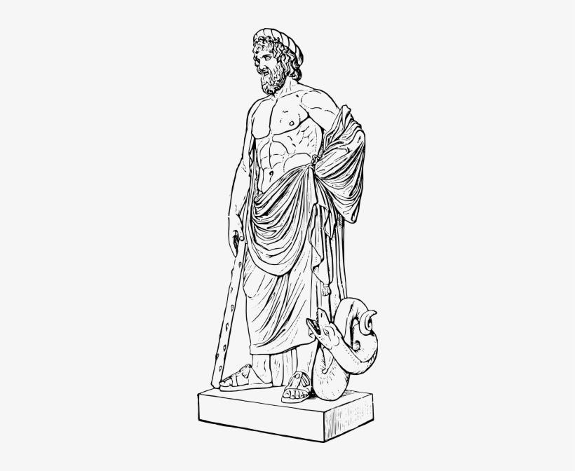 Greek Statue Clipart.