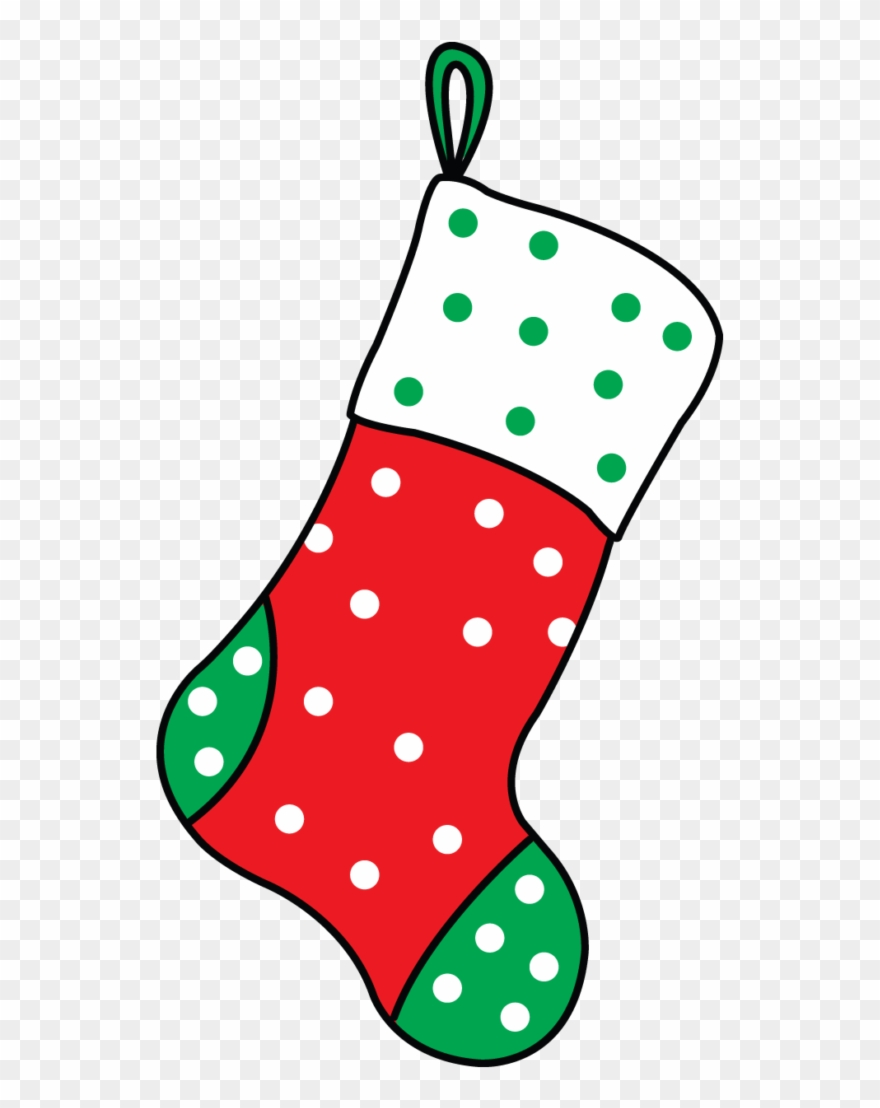 a stocking clipart #4