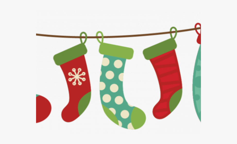 Christmas Ornament Clipart Green Christmas Stocking.