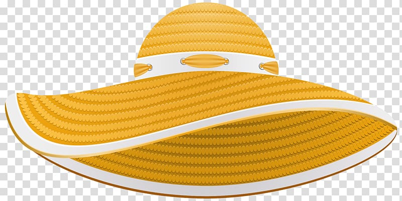 Sun hat Straw hat , hats transparent background PNG clipart.