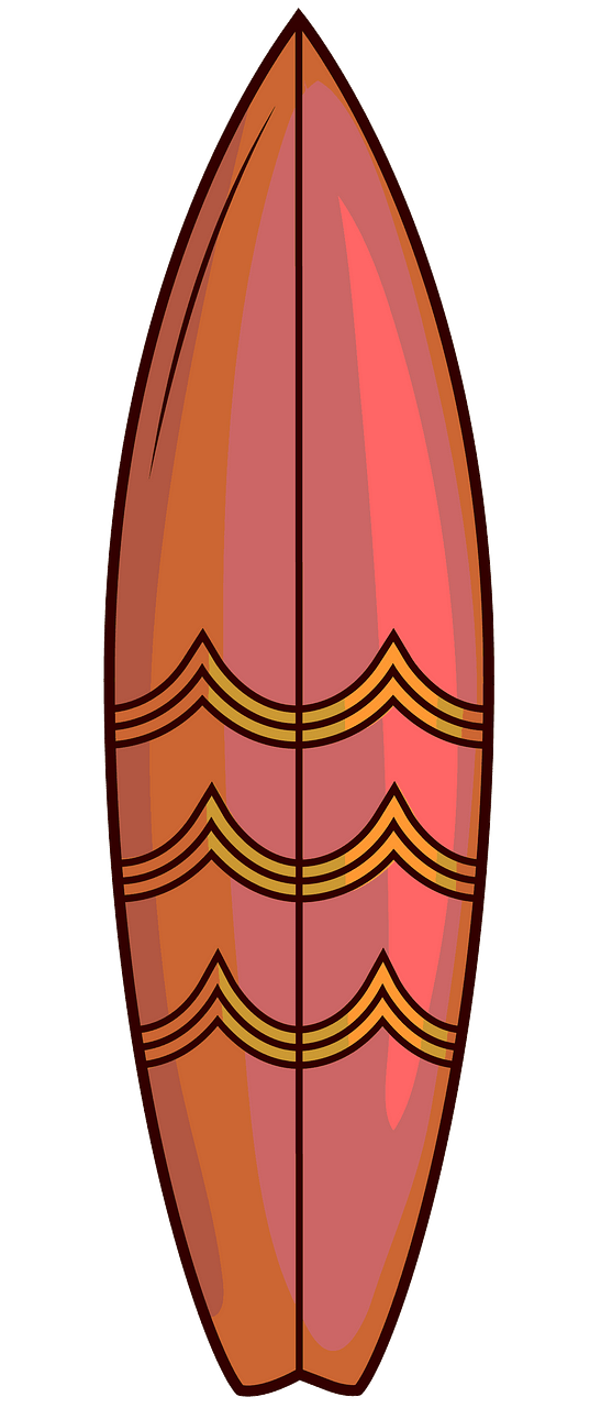 Surfboard clipart. Free download..