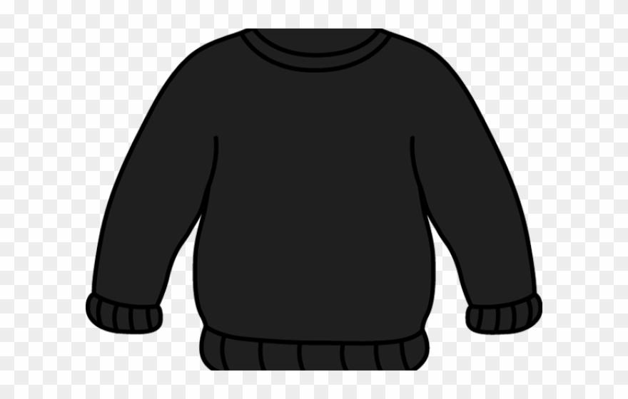 Grey Clipart Black Sweater.