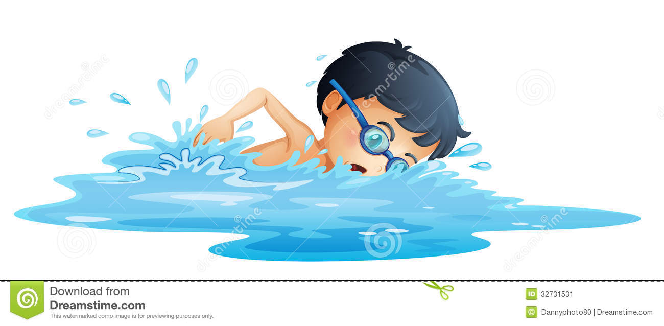Swim Lesson Clipart.