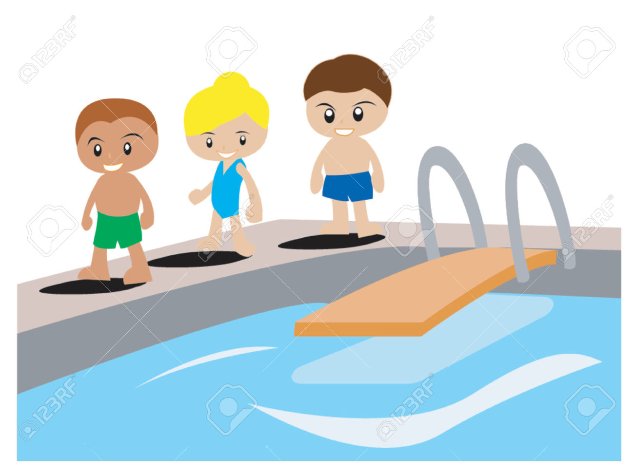Clip Art. Swimming Pool Clipart. Stonetire Free Clip Art Images.