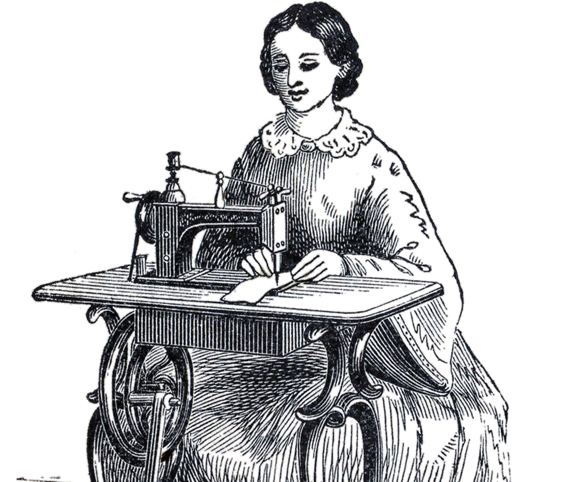 A Tailor Woman Clipart.