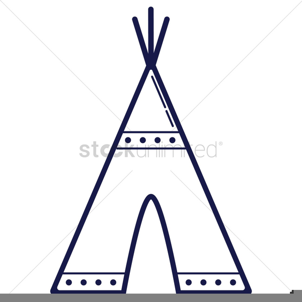 Indian Clipart Teepee.