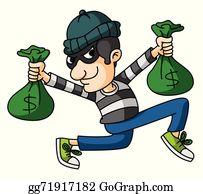 Thief Clip Art.