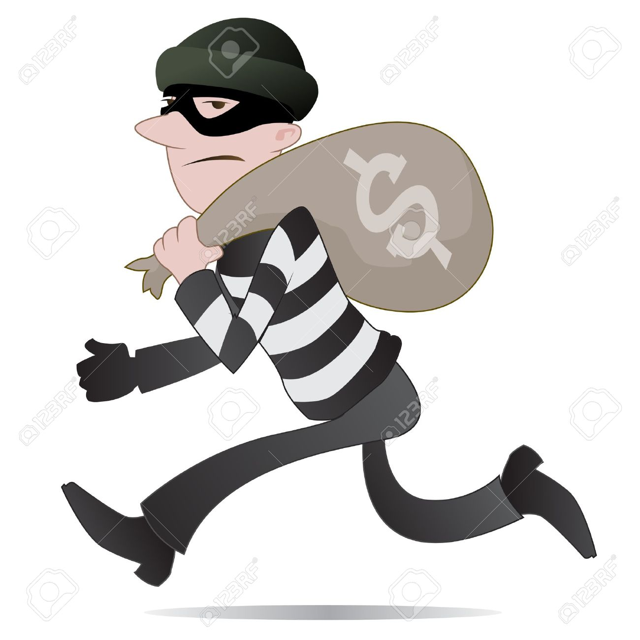 556 Thief free clipart.