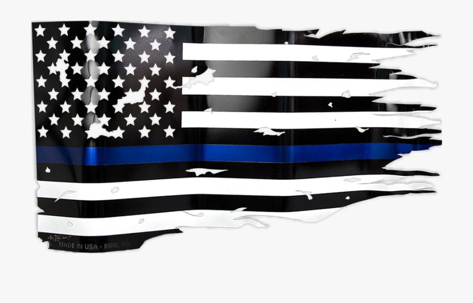 Thin Blue Line Flag Png , Transparent Cartoon, Free Cliparts.