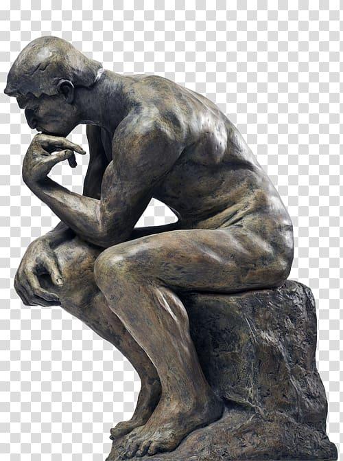 The Thinker Television Intelligence, thinking man statue.