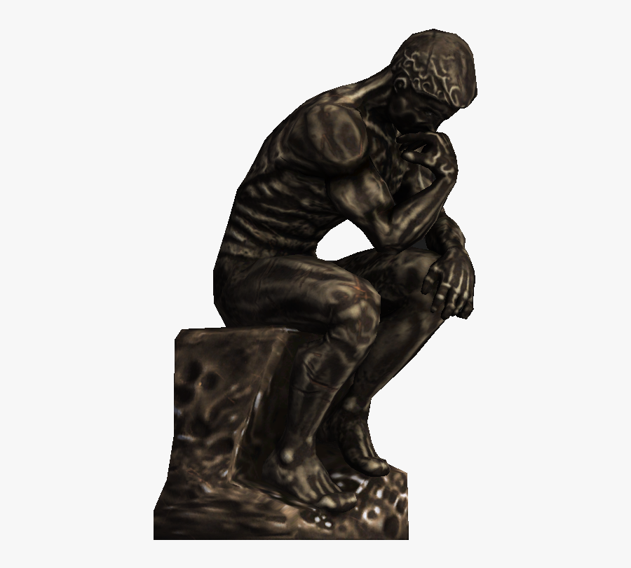 Transparent The Thinker Png.