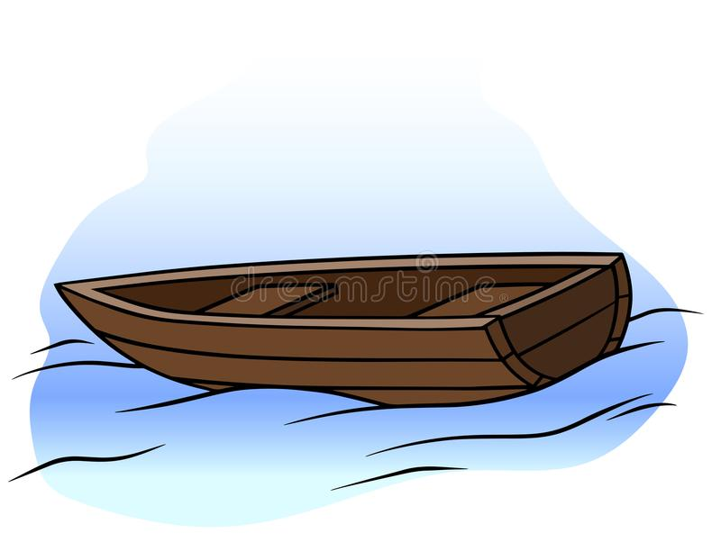Small Rowboat Stock Illustrations.