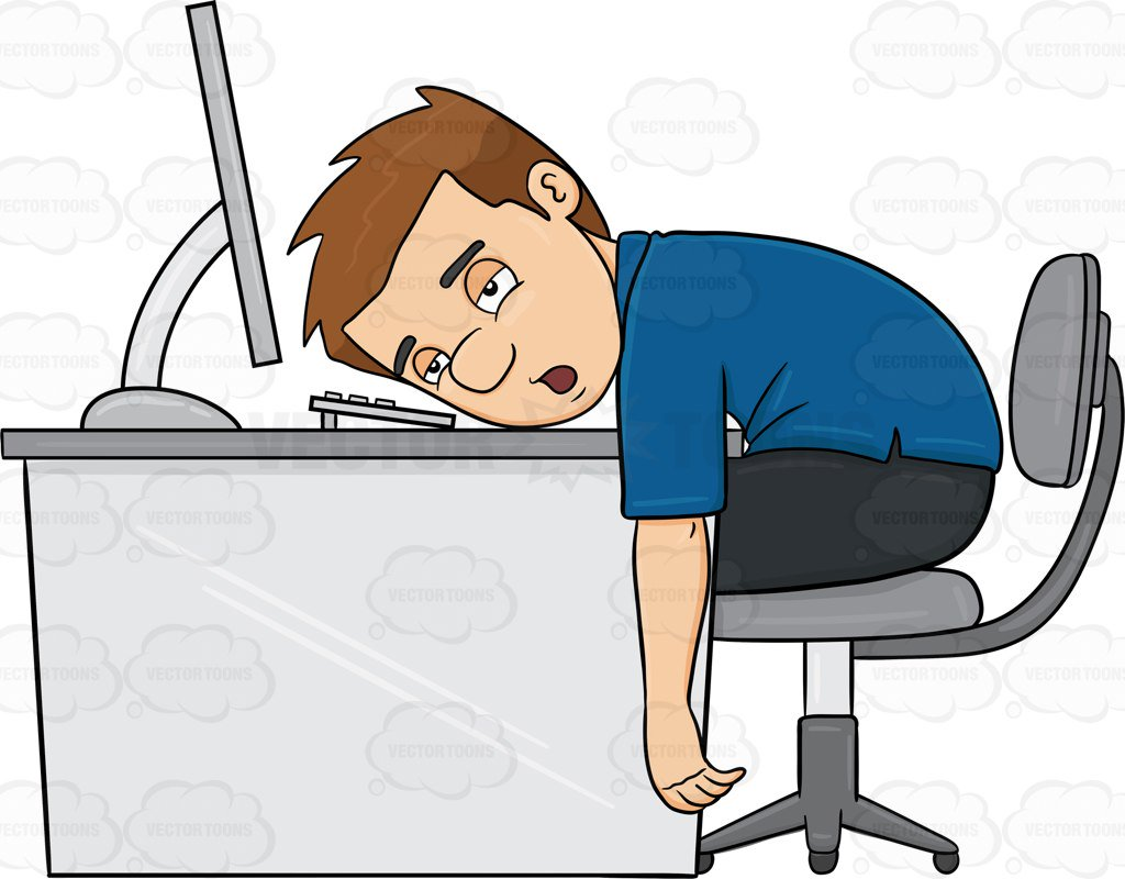 Tired person clipart 2 » Clipart Station.