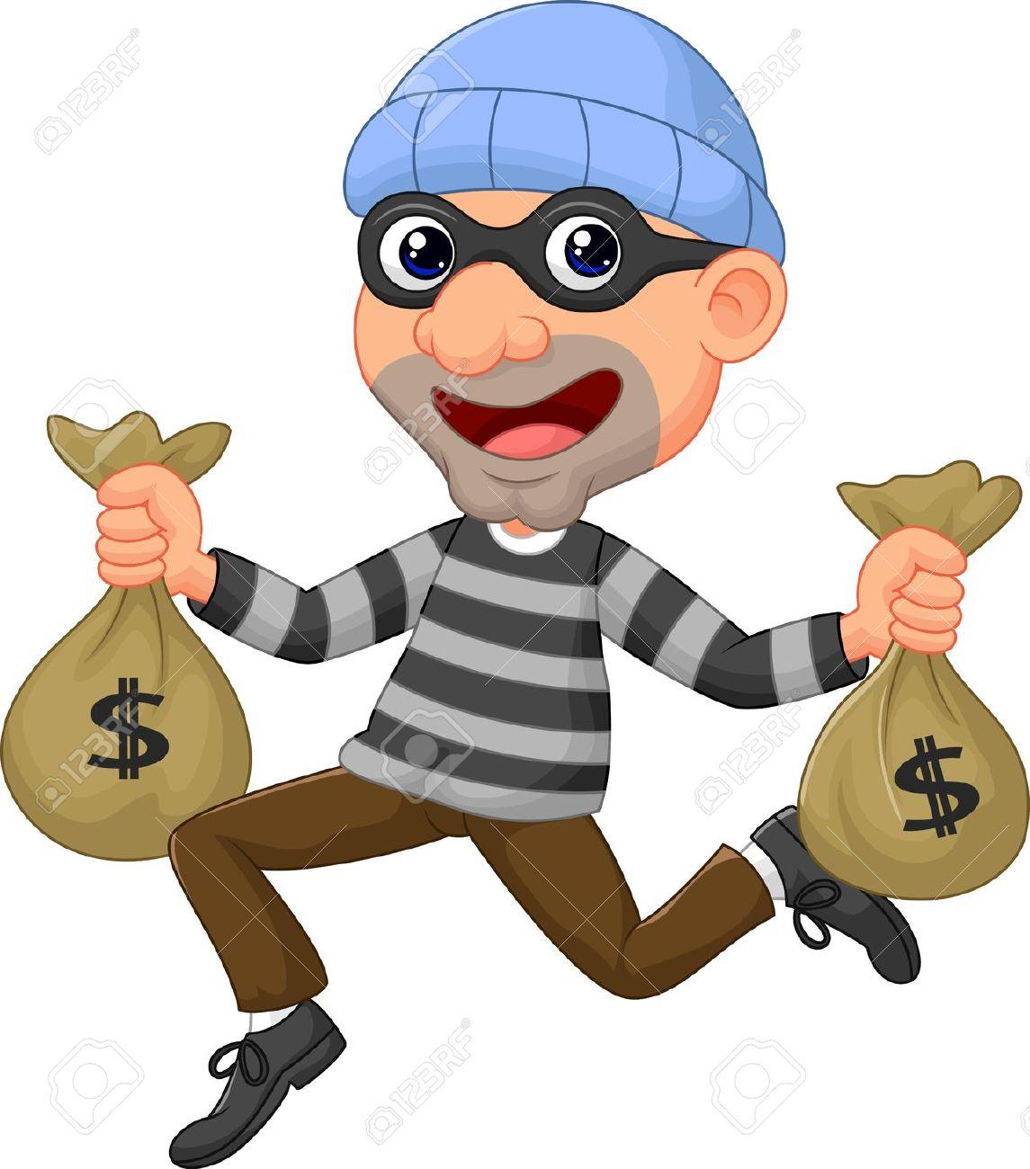 A Thief Clipart.