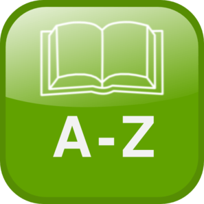 A To Z Directory Icon Clip Art.