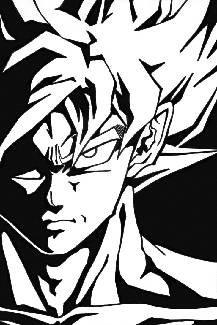 Free Dragon Ball Z Black And White Pictures, Download Free.