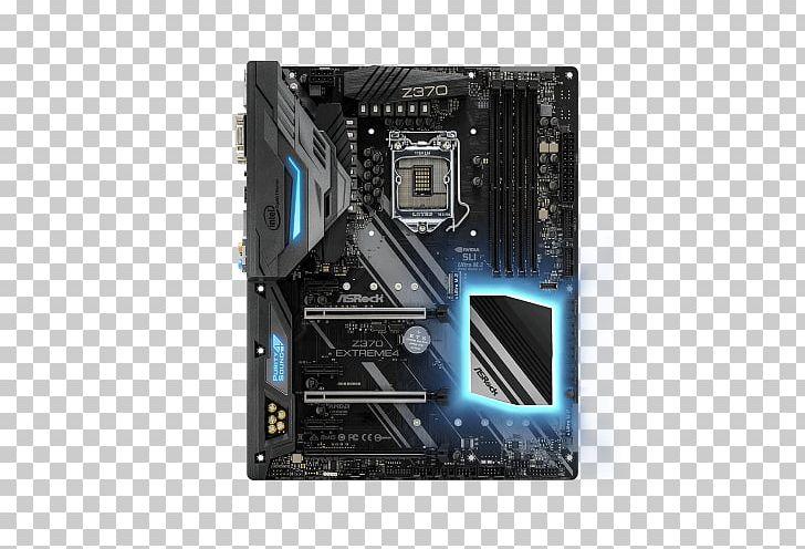 Intel ASRock Z370 EXTREME4 LGA 1151 Motherboard PNG, Clipart.