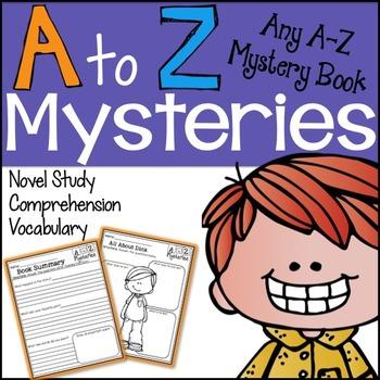 A to Z Mysteries Novel Study Unit *Any Book*.