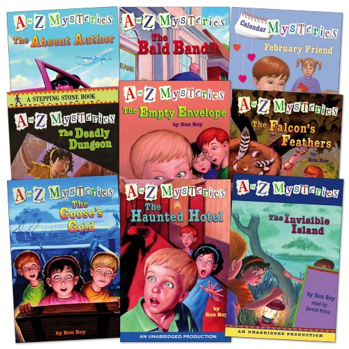 A to Z Mysteries Set 1.