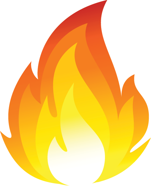 Fire Tongue Transparent & PNG Clipart Free Download.