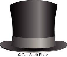 Top Hat Clipart Vector.