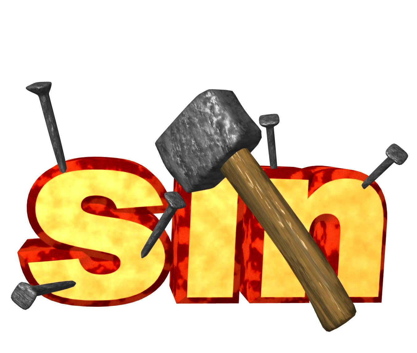 Clipart Of A Sinful People.