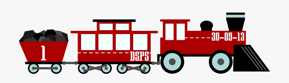 Old Train Clipart.