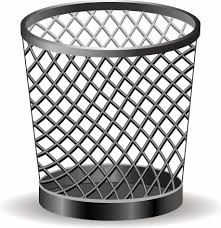Image result for trash can clipart.