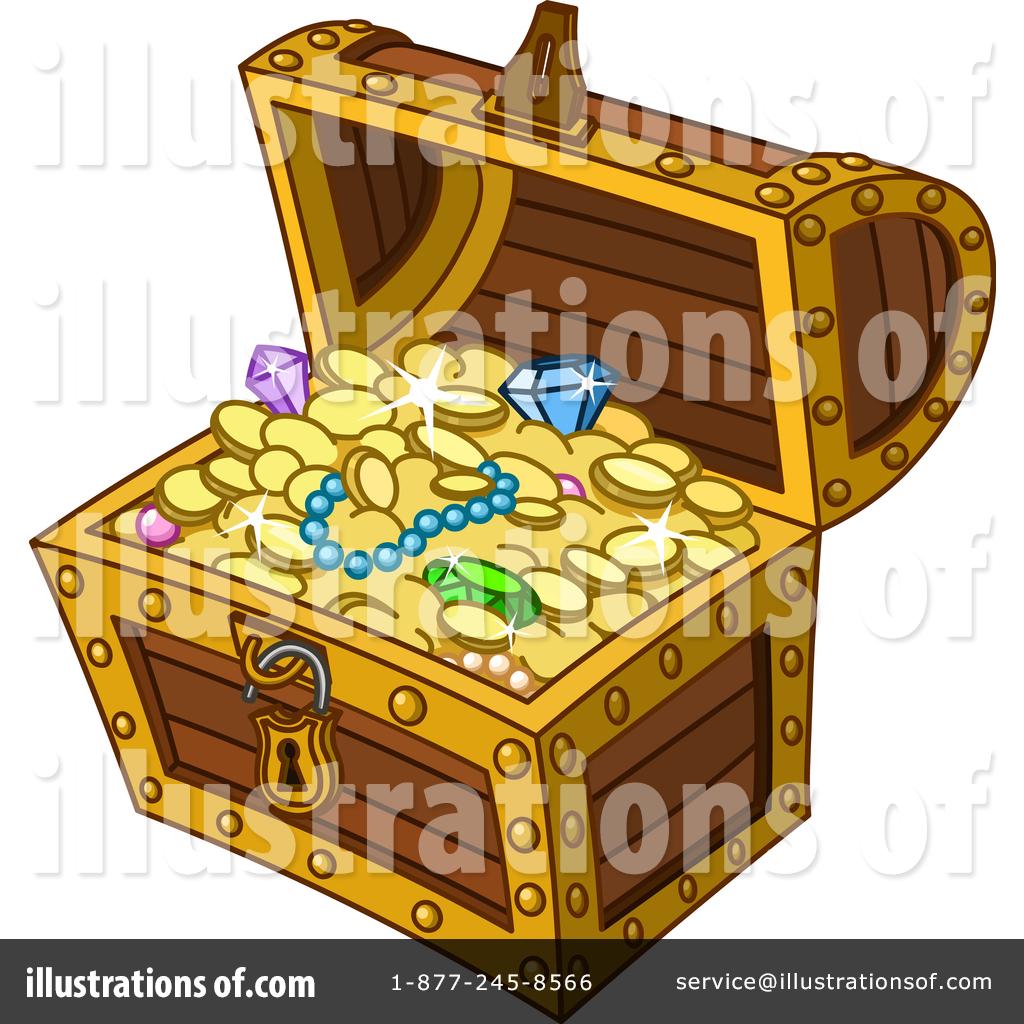 Treasure Chest Clipart #1451523.
