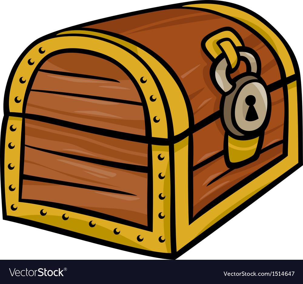 Treasure chest clip art cartoon.